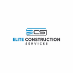 Elite Construction Services or ECS Logo - Entry #325
