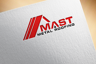 Mast Metal Roofing Logo - Entry #122