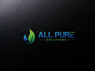 ALL PURE SOLUTIONS Logo - Entry #20