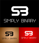 Simply Binary Logo - Entry #15