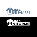 B&A Uniforms Logo - Entry #161