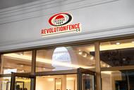 Revolution Fence Co. Logo - Entry #346