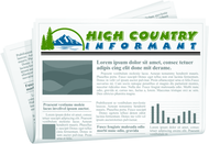 High Country Informant Logo - Entry #191