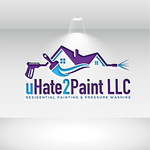 uHate2Paint LLC Logo - Entry #155