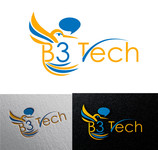 B3 Tech Logo - Entry #54