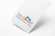 CA Coast Construction Logo - Entry #124