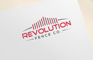 Revolution Fence Co. Logo - Entry #49