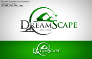 DreamScape Real Estate Logo - Entry #135