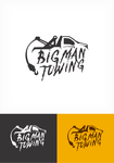 Big Man Towing Logo - Entry #39