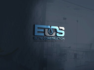 Elite Construction Services or ECS Logo - Entry #10
