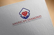 American Diamond Cattle Ranchers Logo - Entry #128