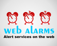 Logo for WebAlarms - Alert services on the web - Entry #140