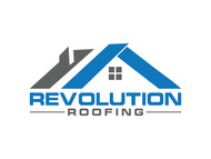 Revolution Roofing Logo - Entry #64