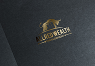 ALLRED WEALTH MANAGEMENT Logo - Entry #654