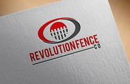 Revolution Fence Co. Logo - Entry #344