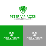 Peter V Pirozzi General Contracting Logo - Entry #44