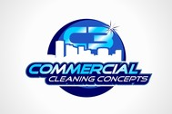Commercial Cleaning Concepts Logo - Entry #77