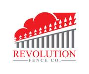 Revolution Fence Co. Logo - Entry #131