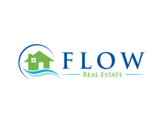 Flow Real Estate Logo - Entry #50