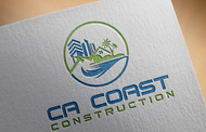 CA Coast Construction Logo - Entry #52