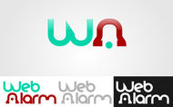 Logo for WebAlarms - Alert services on the web - Entry #25