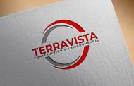 TerraVista Construction & Environmental Logo - Entry #385
