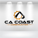 CA Coast Construction Logo - Entry #164