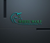 White Wolf Consulting (optional LLC) Logo - Entry #248