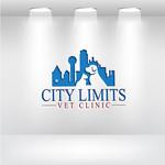 City Limits Vet Clinic Logo - Entry #173