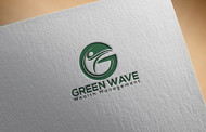 Green Wave Wealth Management Logo - Entry #100