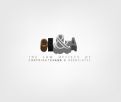 Law Office of Cortright, Evans and Associates Logo - Entry #39