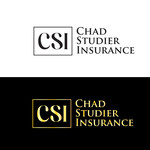 Chad Studier Insurance Logo - Entry #20