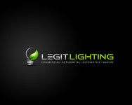 Legit LED or Legit Lighting Logo - Entry #210