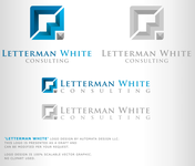 Letterman White Consulting Logo - Entry #80