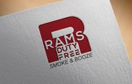 Rams Duty Free + Smoke & Booze Logo - Entry #107