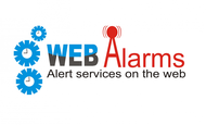 Logo for WebAlarms - Alert services on the web - Entry #100