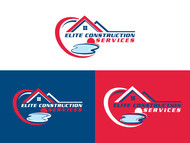Elite Construction Services or ECS Logo - Entry #290