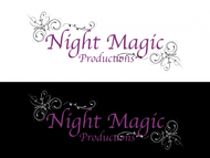 Night Magic Productions Logo - Entry #44