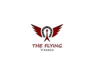 The Flying V Ranch Logo - Entry #18
