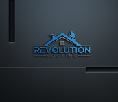 Revolution Roofing Logo - Entry #96