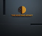 The Hive Mind Apiary Logo - Entry #107
