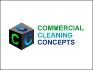 Commercial Cleaning Concepts Logo - Entry #42