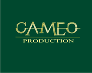 CAMEO PRODUCTIONS Logo - Entry #108