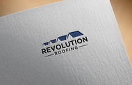 Revolution Roofing Logo - Entry #588