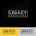 LEGACY RENOVATIONS Logo - Entry #170