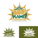 KAMPcoordinator : Kids' Adventure Mapping Program   Logo - Entry #26