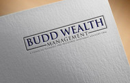 Budd Wealth Management Logo - Entry #378