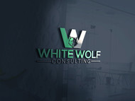White Wolf Consulting (optional LLC) Logo - Entry #389
