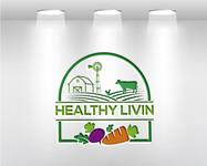 Healthy Livin Logo - Entry #509