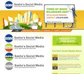 Sasha's Social Media Logo - Entry #158